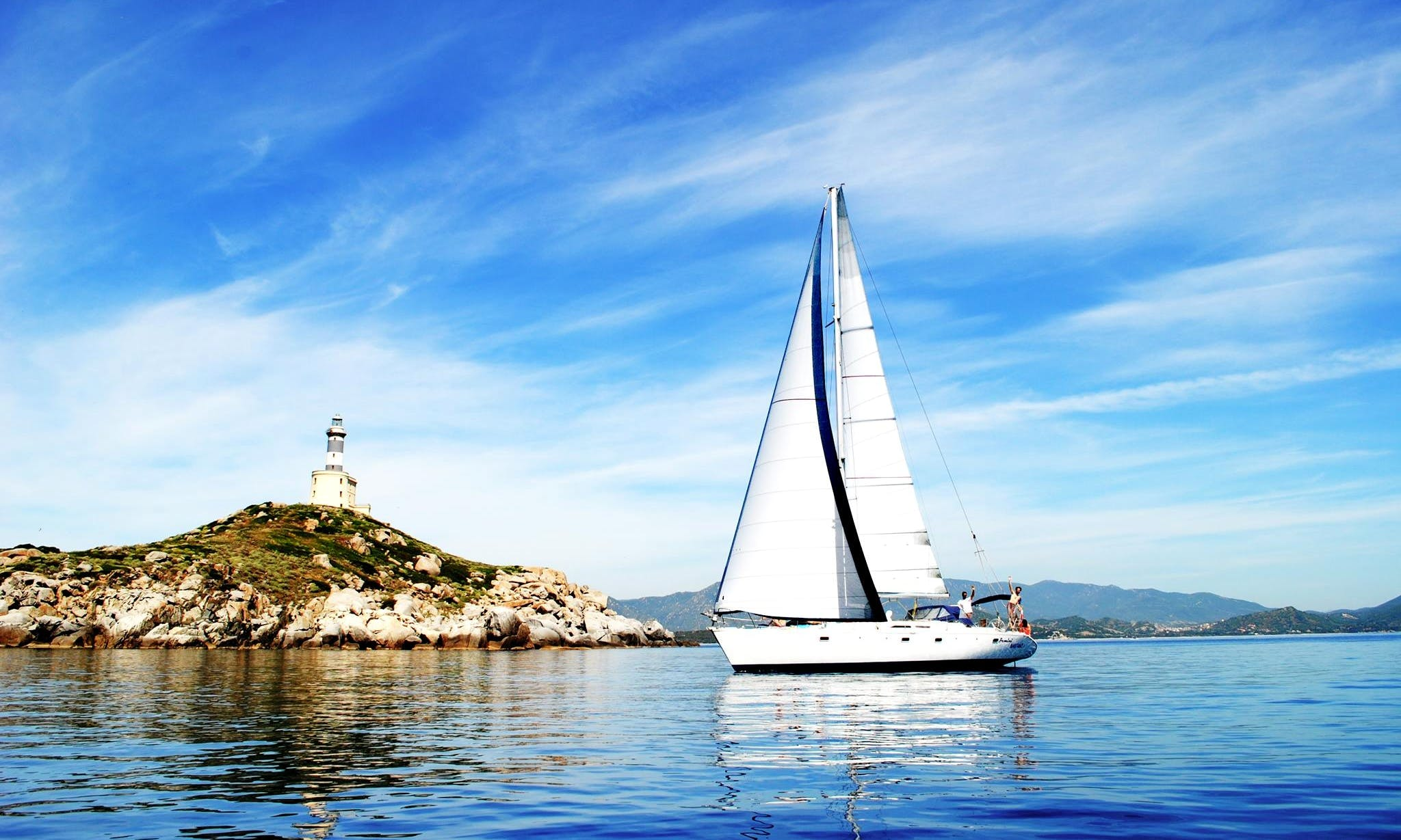 'Zemini' Atlantic 49 Monohull Trips & Charter in Cagliari