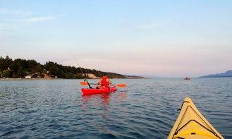 Single Kayak Rental in Powell River, BC