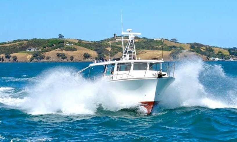 Charter the Steber 41 Fishing Yacht in Auckland