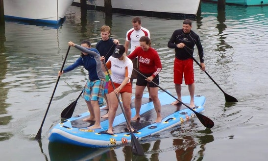 Squatch 6-people Sup Rental In Stone Harbor
