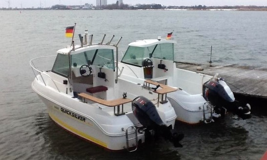 Rent The 16' Baltica Motor Boat In Fehmarn