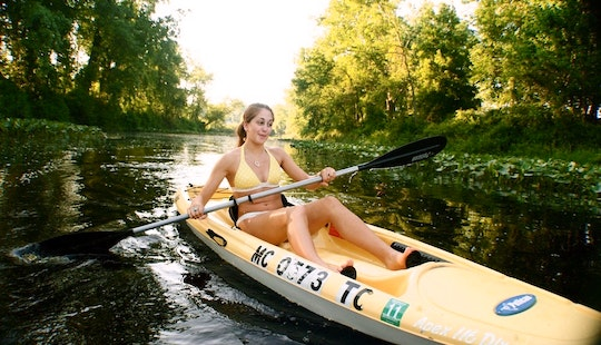 Book A Single Kayak In Benton Harbor, Michigan