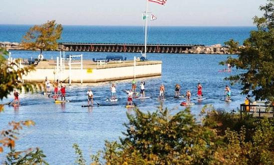 Stand Up Paddleboard Rental In Benton Harbor
