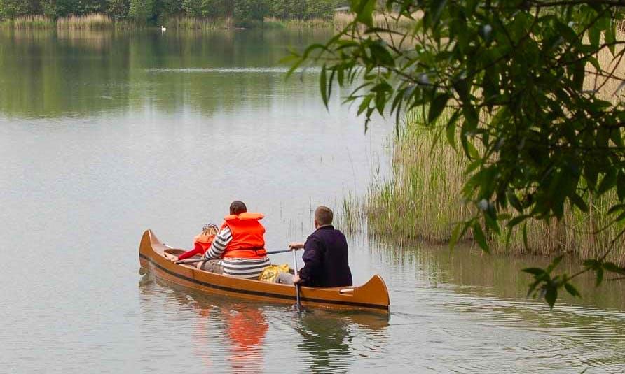 3-Person Canoe Hire in Otterndorf