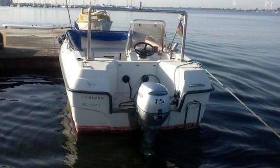 16' Baltica Vi Open Boat Rental In Fehmarn