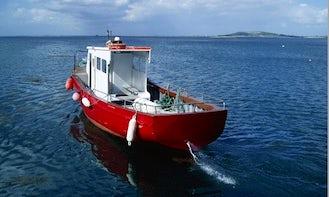 38' Fishing Charter In Gallway