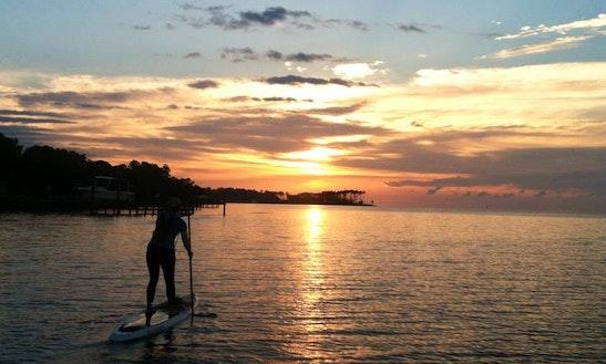 Paddleboard At Sutton Lake, Sutton Wv