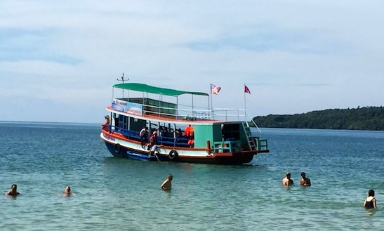 Cambodian Boat In Sihanoukville