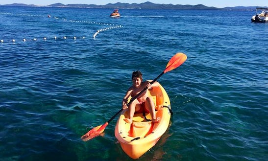 1-person Kayak Hire In Croatia