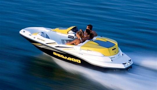 Yellow SeaDoo Speedster Boat Rental in Zadarska županija, Croatia