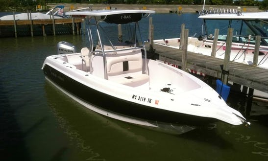 Lake Erie Fishing Charter On 24' Pro-line Super Sport Boat With Captain Robb
