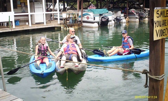 Double Kayak Rental In Beaverdam