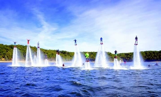 Flyboarding Lesson In Royse City