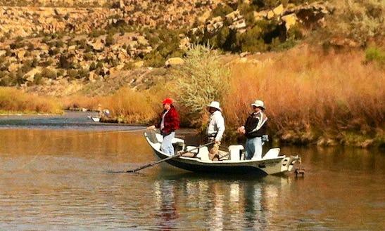 Guided Fishing Float Trips In Navajo Dam