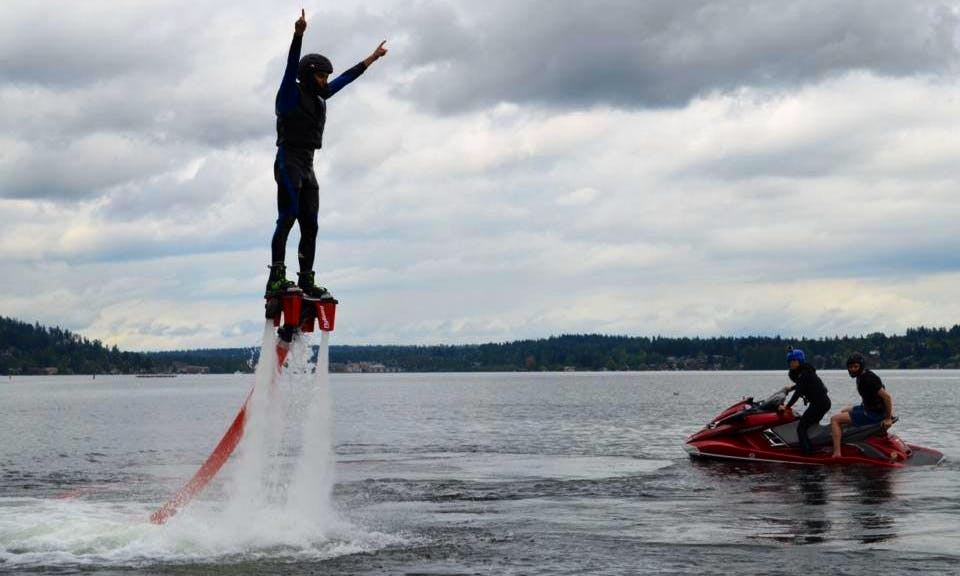 Let your dream to fly come true! Flyboarding in Issaquah