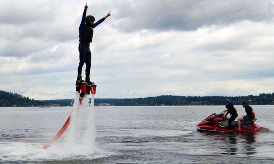 Flyboarding In Issaquah