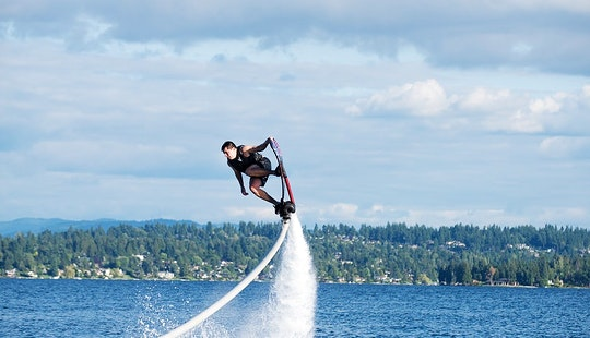 Basic Hoverboard Flight In Issaquah