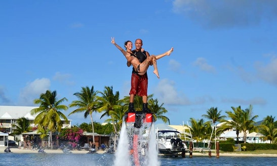 Flyboarding Rides In Saint Martin