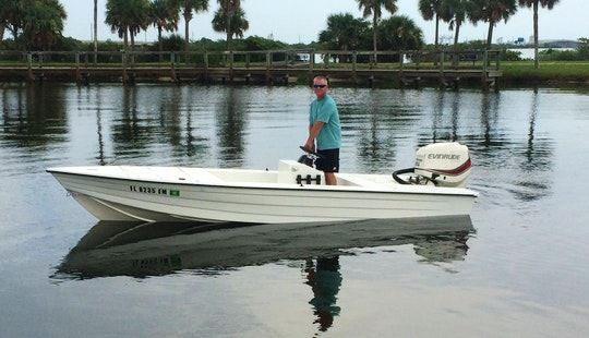 19' Inshore Fishing Boat In Port Canaveral