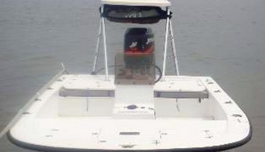 18' Inshore Fishing Boat In Port Canaveral