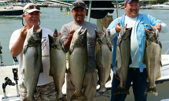 20' Key Largo Cc Fishing Trips, Lake Ontario Or Lake Erie, Canada