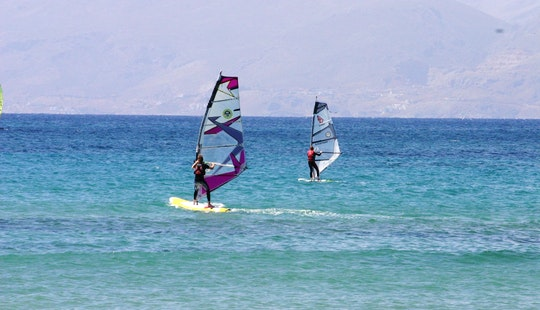 Windsurfing Lessons, Rental & License In Kos