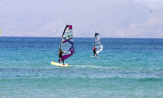 Windsurfing Lessons, Rental & License In Kos