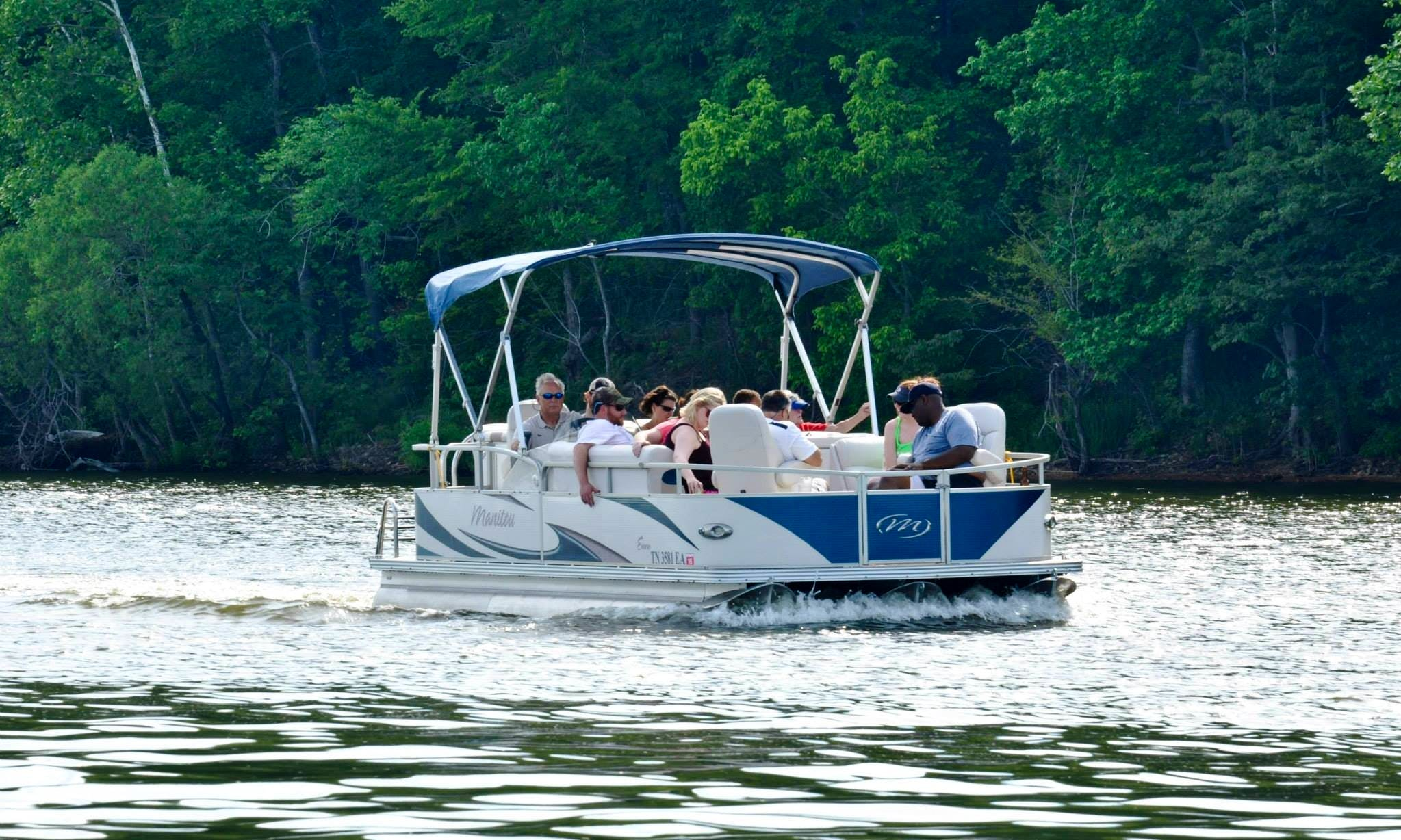 Pontoon 60hp Rental in Camden