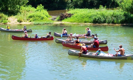 Canoeing Paddleing Trips & Rental In Meramec Township