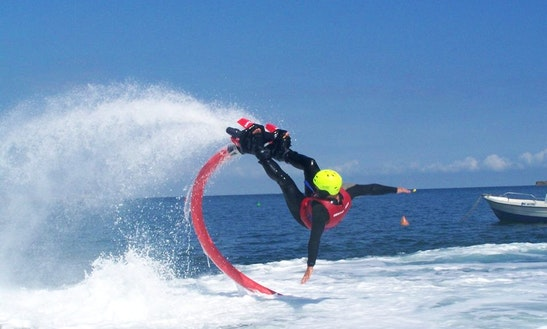 Flyboarding In Saint-jean-de-luz, France
