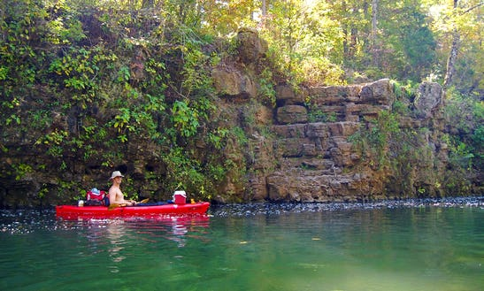 Kayak Float Trip On Niangua River