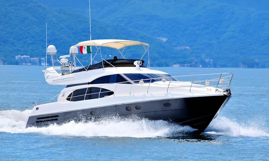 58' Azimut Motor Yacht Charter in Puerto Vallarta, Mexico