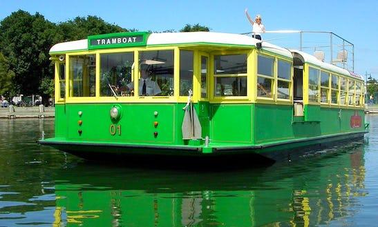 Enjoy Tramboat In Docklands Victoria