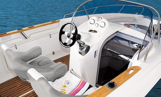 Rent The Quicksilver Commander 600 Motor Boat In Alcúdia