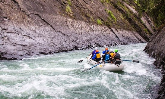 River Rafting On Snake Indian River