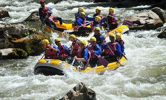 Group Rafting Trips in Tramezaigues, France