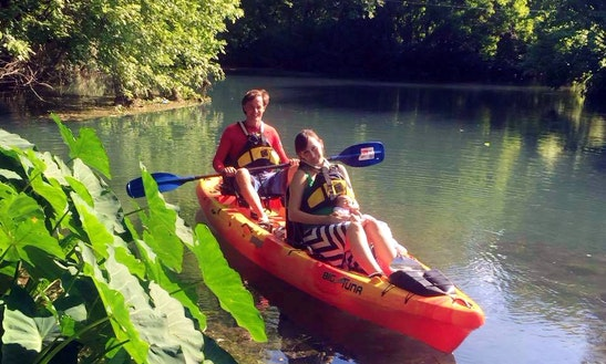 Double Kayak Rental With Skilled Instructors In San Marcos, Texas