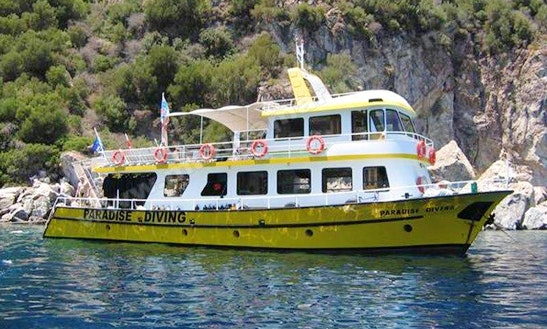 Paradies Diving Boat In Muğla