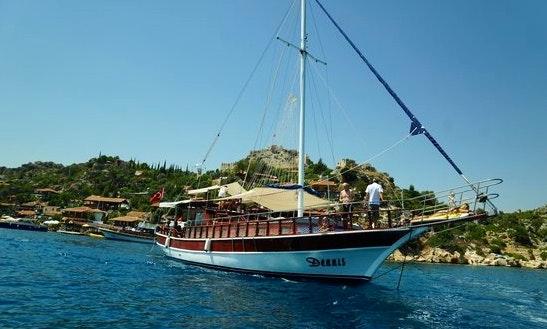 Dennis Boat In Antalya