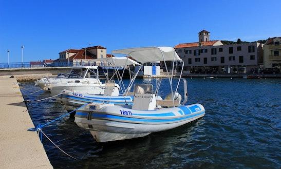Ris Scorpio H80 Rib Boat Hire In Tisno