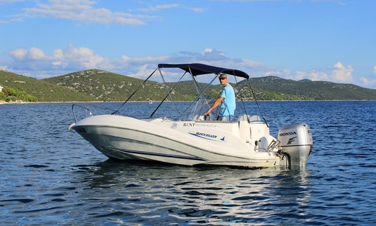 Quicksilver 505 Boat Hire In Tisno