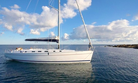 'evangelia' Cyclades 50.5 Monohull Charter In Santorini