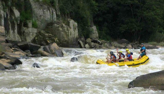 White Water Rafting On Umkomaas River