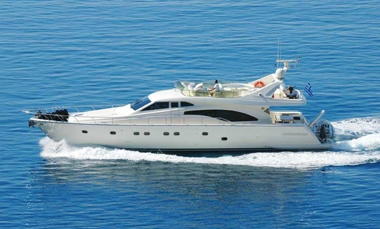 Ferretti 680 Motor Yacht Charter In Rovinj
