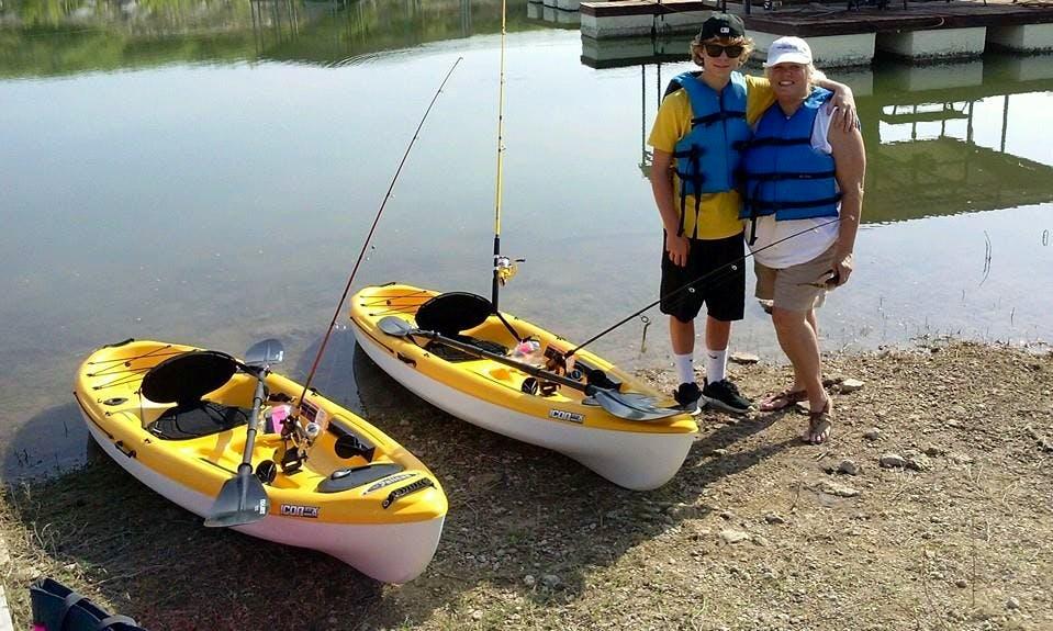 Fishing Kayak Rental in Lago Vista