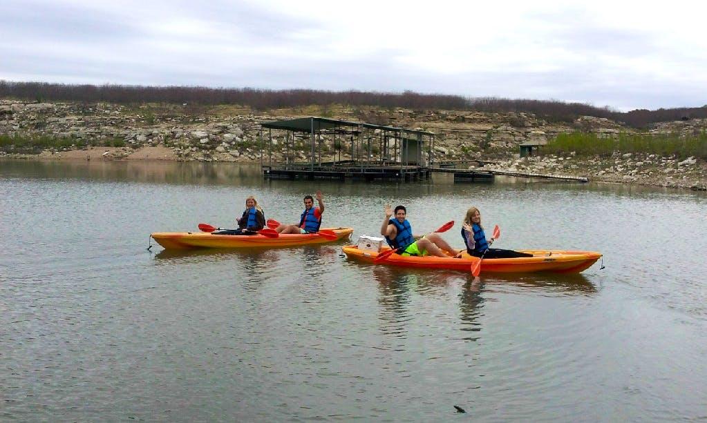 Double Kayak Rental in Lago Vista