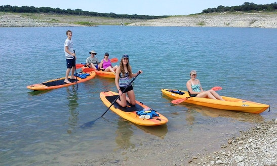 Stand Up Paddleboard Rental In Lago Vista