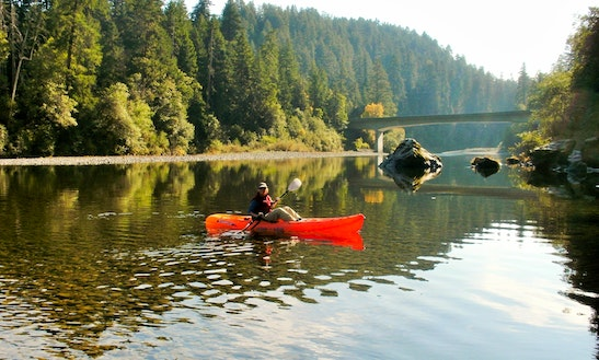 Single Touring Kayak Rental In Smith River