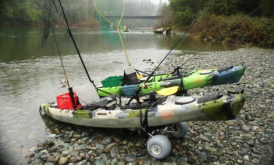 Fishing Adventure On A Sit-on-top Kayak In Smith River, California