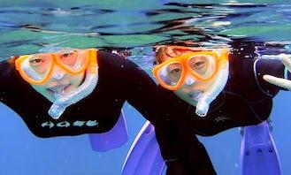 Snorkeling in Yakushima-chō